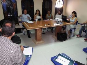 Antônio Francisco Oliveira com os representantes da Região Norte na sede do CAU/RR