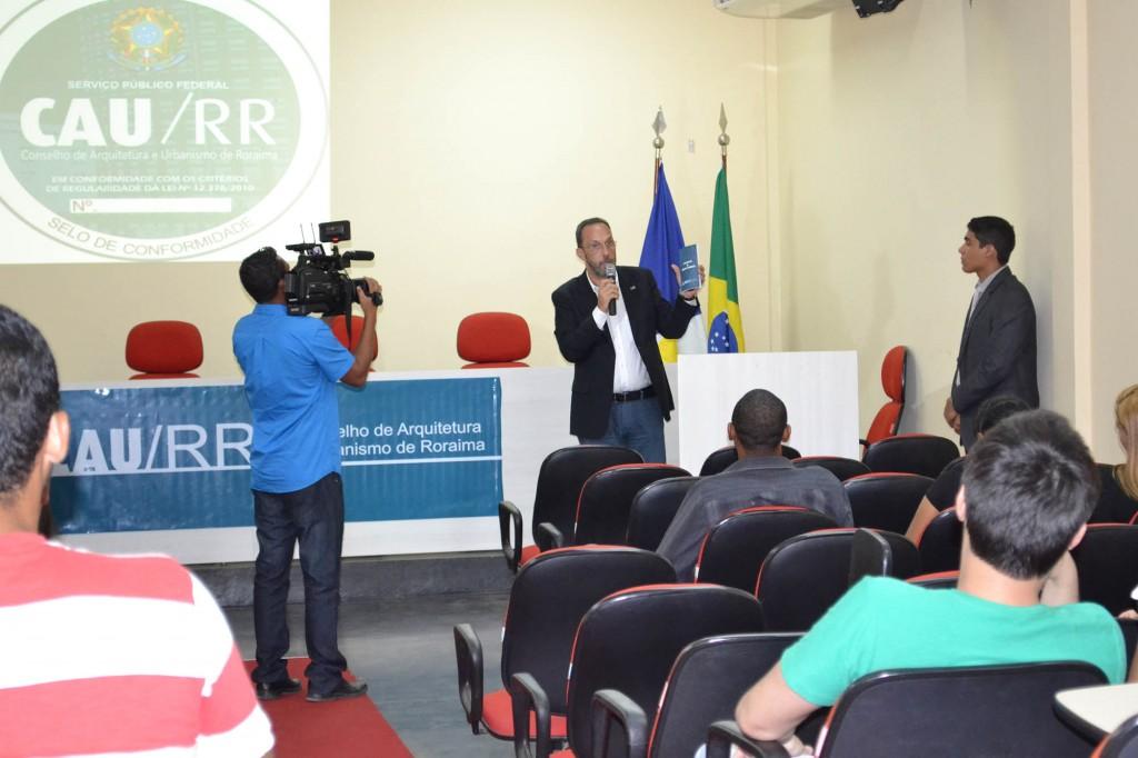 presidente do CAU/RR Pedro Hees