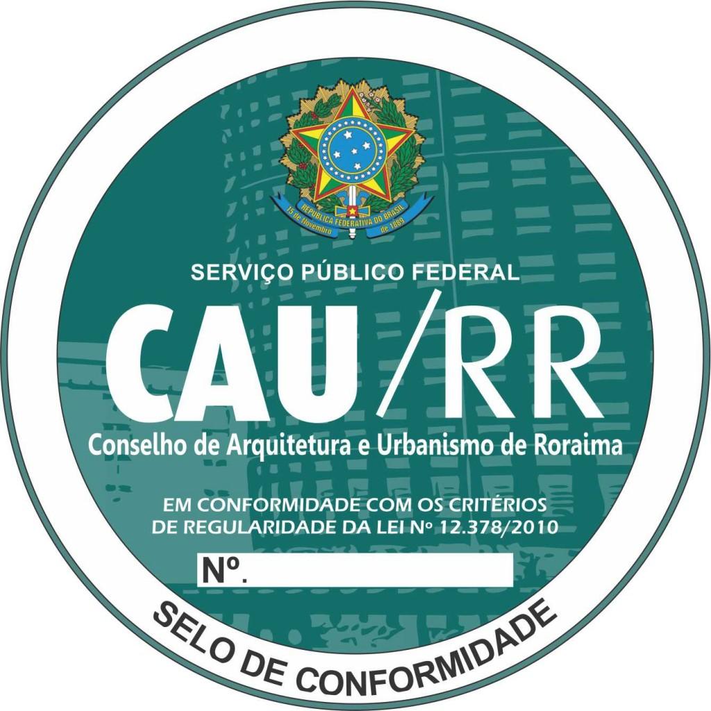 Selo de Conformidade_CAU_RR