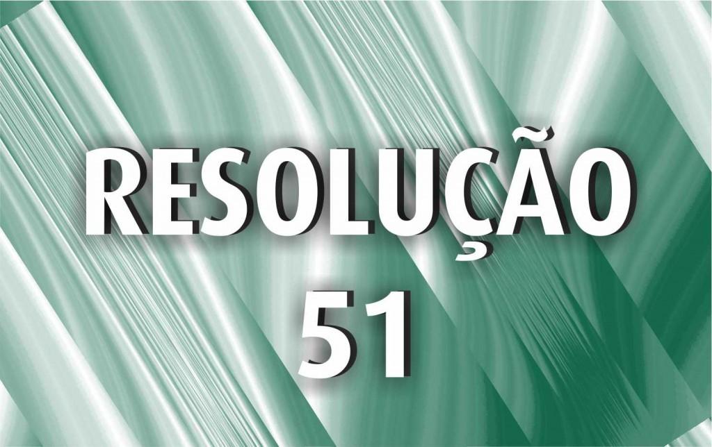 Resolução 51