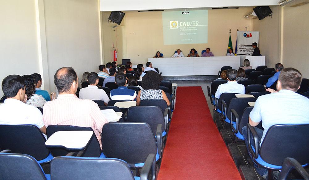 II seminario_CAU_RR na OAB