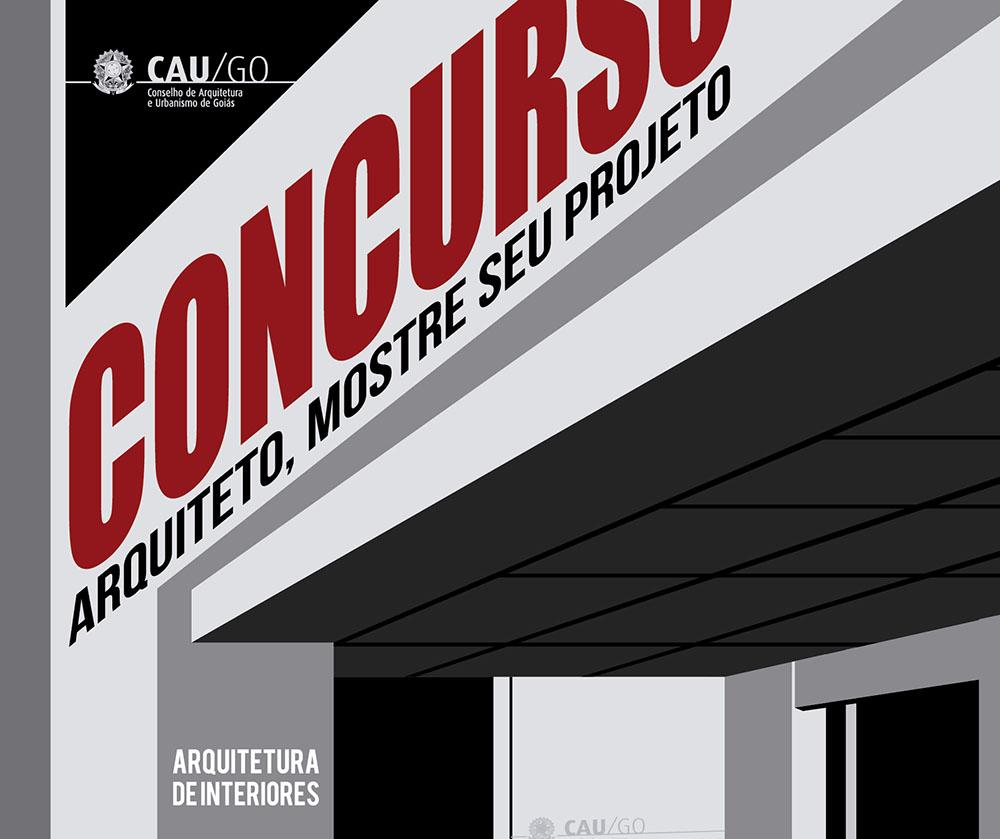 Cartaz Concurso CAU/GO
