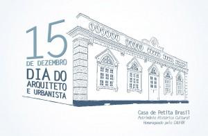 Convite Dia do Arquiteto